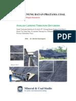 Analisa Timbunan Batubara GBPC Block II BDN_2