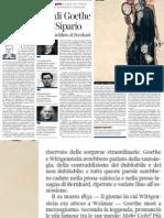 Pietro Citati Racconta Lo Sguardo Beffardo Di Thomas Bernhard Su Goethe - Corriere Della Sera 25.03.2013