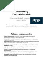 Colorimetria y Espectrofotometria