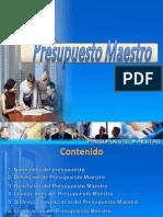Ejemplo de Presupuesto Maestro 1
