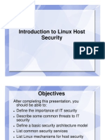 01 Introduction to Linux Host Security