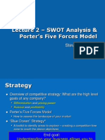 SWOT Analysis and Michael Porter five forces
