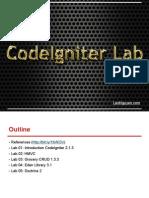 CodeIgniter Lab