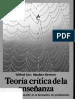 kemmis, s. y w. carr-teoría crítica de la enseñanza (1986)