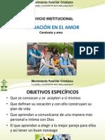 FORMACIÓN EN EL AMOR.