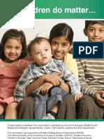 Children Do Matter Council of Mosques Report