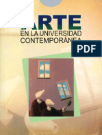 El Arte en la Universidad Contemporánea