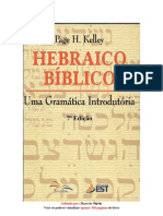 Gramática Hebraico Blblico