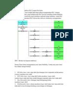 Diagram Ladder Aplikasi PLC Lampu Lalu Lintas