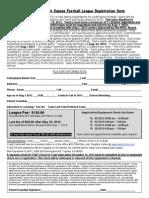 2013 Nkfl Registration