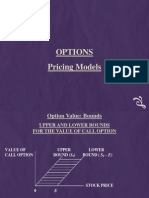 Options Pricing