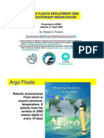 Argo Float Deployment 2005 in Southeast Indian Ocean