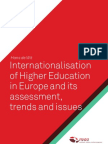 Internationalisation of Higher Education in Europe DEF December 2010