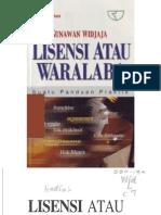 Buku Lisensi Atau Waralaba eBook