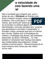 Aumente a velocidade do seu Windows fazendo uma faxina ger…