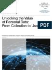 WEF IT UnlockingValuePersonalData CollectionUsage Report 2013