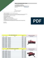 Tabela de Preços Linha Agrícola Janeiro (---2013---)