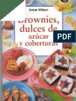 Anne Wilson - Brownies, Dulces de Azucar y Coberturas