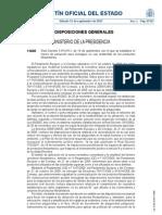 Real Decreto 1311/2012
