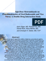 Effect of High-Dose Metronidazole On
