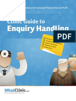 The Medical Practice Guide to Enquiry Handling