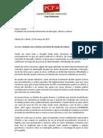 GPPCP-XII-Audição do Secretário Estado Cultura