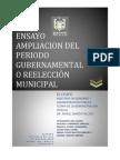 Tarea 2_ensayo Ampliacion Del Periodo Gubernamental