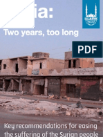 Syria, Two Years, Too Long