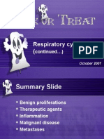Exfoliative respiratory cytology (part 2 of 2)
