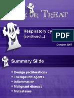 Exfoliative respiratory cytology (part 2 of 2)