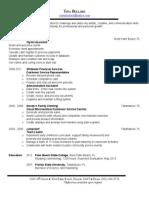 tina bullard resume-2012