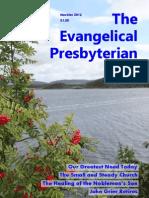 The Evangelical Presbyterian - November-December 2012