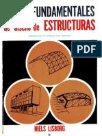 Principios Fundamentales de diseño de estructuras NIELS LISBORG (1965) PARTE 1