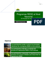 R. Cortez - Programas REDD a Nivel Nacional