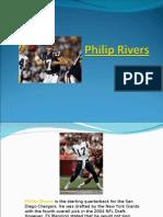 Philip Rivers-NFL Quarterback San Diego Chargers