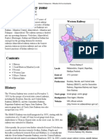 Western Railway Zone - Wikipedia, The Free Encyclopedia