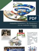 Animales Humanos y No Humanos en Un Contexto