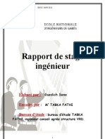 Raport de Stage Ingenieur Sana