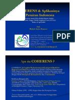 COHERENS dan Aplikasinya di Perairan Indonesia