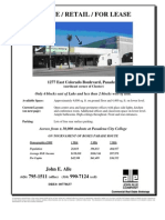 1277 E. Colorado Blvd., Pasadena | for Lease
