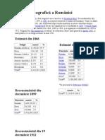 demografiea României