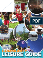 North Bay Community Leisure Guide Spring/Summer 2013