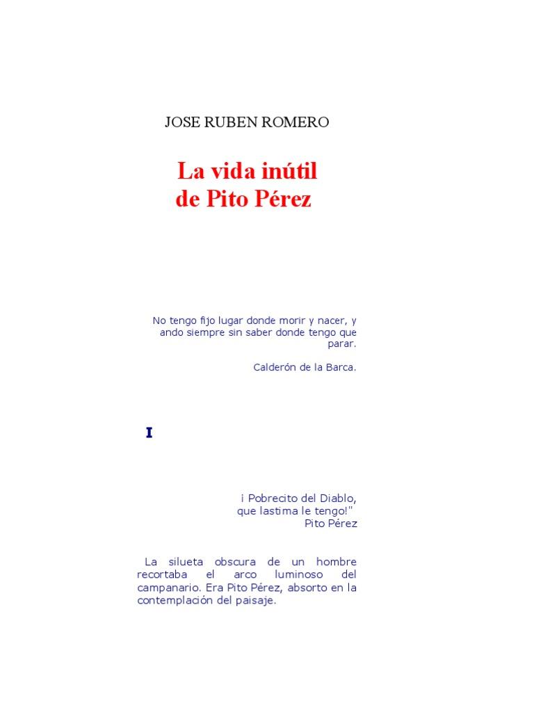 La Vida Inutil De Pito Perez Libro Pdf
