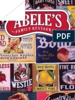 Abele's Family Restaurant menu in Morganton NC