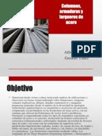 Columnas, Armaduras y Largueros de Acero