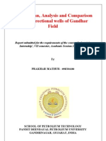 Drilling Plan Anlaysis and Comparison of two directional well of Gandhar Field