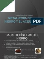 METALURGIA DEL HIERRO Y EL ACERO.ppt