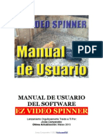 Ez Video Spinner Manual de Usuario en pdf