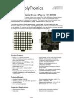 8x8 RGB LED Matrix Display v1