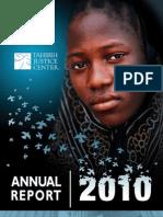 Tahirih 2010 Annual Report